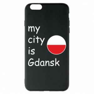 Phone case for iPhone 6 Plus/6S Plus My city is Gdansk