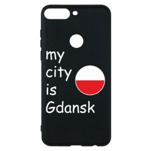 Phone case for Huawei Y7 Prime 2018 My city is Gdansk