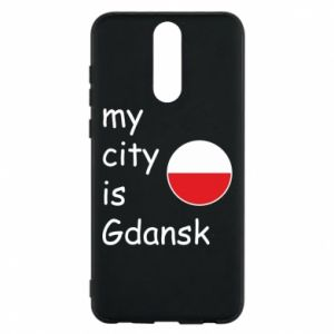 Phone case for Huawei Mate 10 Lite My city is Gdansk