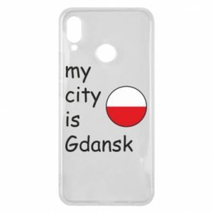 Phone case for Huawei P Smart Plus My city is Gdansk