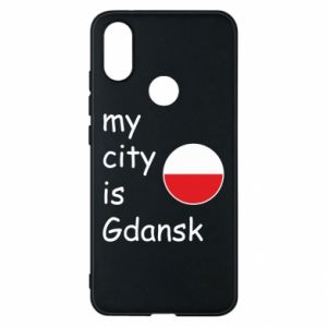 Phone case for Xiaomi Mi A2 My city is Gdansk