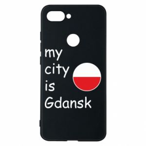 Phone case for Xiaomi Mi8 Lite My city is Gdansk