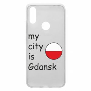 Phone case for Xiaomi Redmi 7 My city is Gdansk