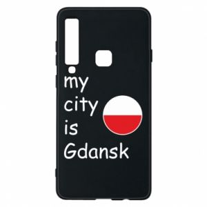 Phone case for Samsung A9 2018 My city is Gdansk