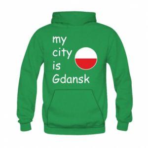 Kid's hoodie My city is Gdansk