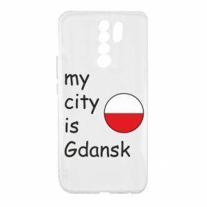 Xiaomi Redmi 9 Case My city is Gdansk