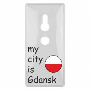 Sony Xperia XZ2 Case My city is Gdansk