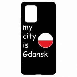 Samsung S10 Lite Case My city is Gdansk