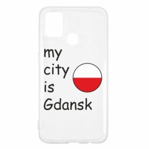 Samsung M31 Case My city is Gdansk