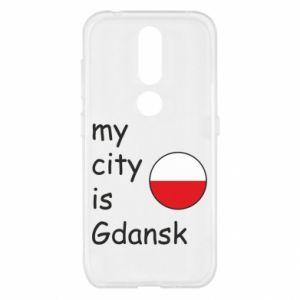 Nokia 4.2 Case My city is Gdansk