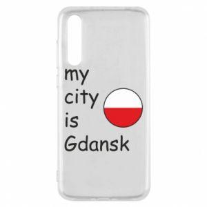 Huawei P20 Pro Case My city is Gdansk