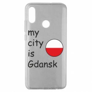 Huawei Honor 10 Lite Case My city is Gdansk