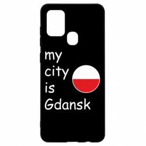Samsung A21s Case My city is Gdansk