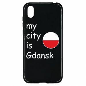 Huawei Y5 2019 Case My city is Gdansk