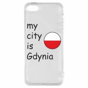 Etui na iPhone 5/5S/SE My city is Gdynia - PrintSalon