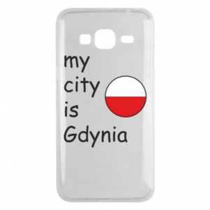 Etui na Samsung J3 2016 My city is Gdynia - PrintSalon
