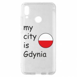 Huawei P Smart 2019 Case My city is Gdynia