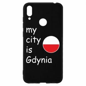 Huawei Y7 2019 Case My city is Gdynia
