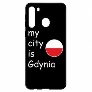 Samsung A21 Case My city is Gdynia