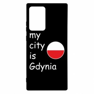 Samsung Note 20 Ultra Case My city is Gdynia
