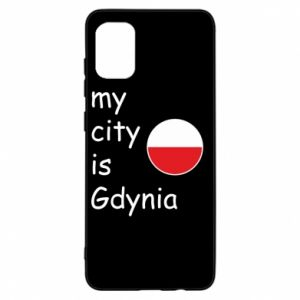 Samsung A31 Case My city is Gdynia