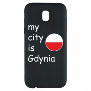 Etui na Samsung J5 2017 My city is Gdynia - PrintSalon