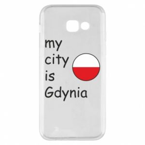 Etui na Samsung A5 2017 My city is Gdynia - PrintSalon