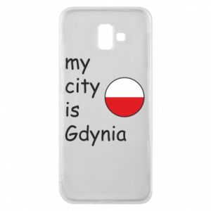 Etui na Samsung J6 Plus 2018 My city is Gdynia - PrintSalon