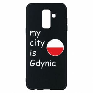 Etui na Samsung A6+ 2018 My city is Gdynia - PrintSalon