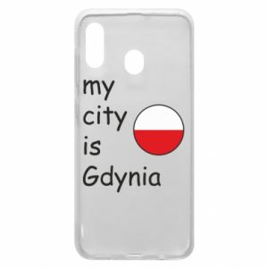 Etui na Samsung A20 My city is Gdynia - PrintSalon