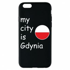 Etui na iPhone 6/6S My city is Gdynia - PrintSalon