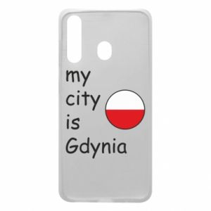 Etui na Samsung A60 My city is Gdynia - PrintSalon