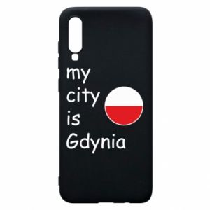 Etui na Samsung A70 My city is Gdynia - PrintSalon
