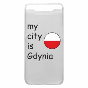 Etui na Samsung A80 My city is Gdynia - PrintSalon