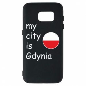 Etui na Samsung S7 My city is Gdynia - PrintSalon