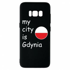 Etui na Samsung S8 My city is Gdynia - PrintSalon
