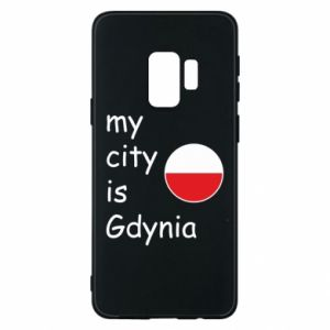 Etui na Samsung S9 My city is Gdynia - PrintSalon