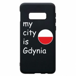 Etui na Samsung S10e My city is Gdynia - PrintSalon