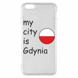 Etui na iPhone 6 Plus/6S Plus My city is Gdynia - PrintSalon