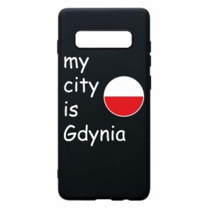 Etui na Samsung S10+ My city is Gdynia - PrintSalon