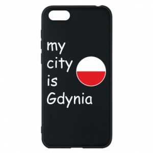 Etui na Huawei Y5 2018 My city is Gdynia - PrintSalon