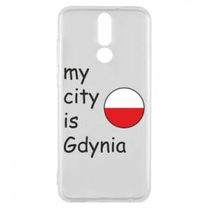 Etui na Huawei Mate 10 Lite My city is Gdynia - PrintSalon