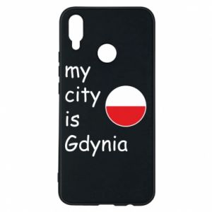 Etui na Huawei P Smart Plus My city is Gdynia - PrintSalon