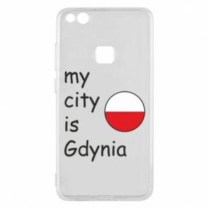 Etui na Huawei P10 Lite My city is Gdynia - PrintSalon