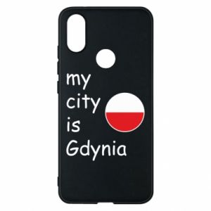 Etui na Xiaomi Mi A2 My city is Gdynia - PrintSalon