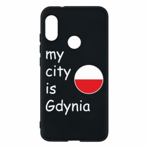 Etui na Mi A2 Lite My city is Gdynia - PrintSalon