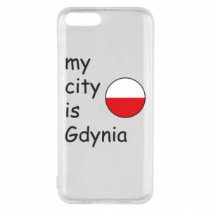 Etui na Xiaomi Mi6 My city is Gdynia - PrintSalon