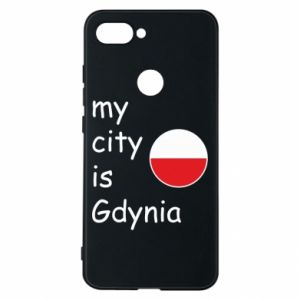 Etui na Xiaomi Mi8 Lite My city is Gdynia - PrintSalon