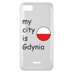 Etui na Xiaomi Redmi 6A My city is Gdynia - PrintSalon