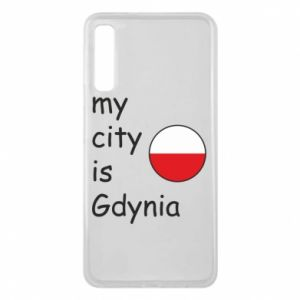 Etui na Samsung A7 2018 My city is Gdynia - PrintSalon